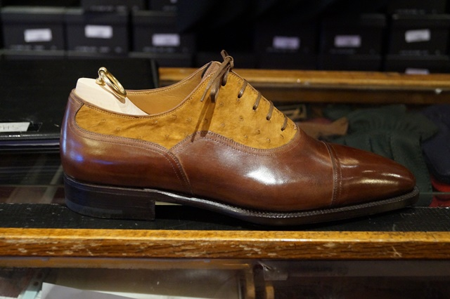 Stefano Bemer two toned balmoral oxford