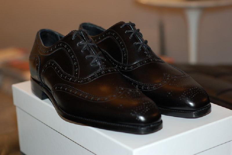 Barker Black Shoes 65