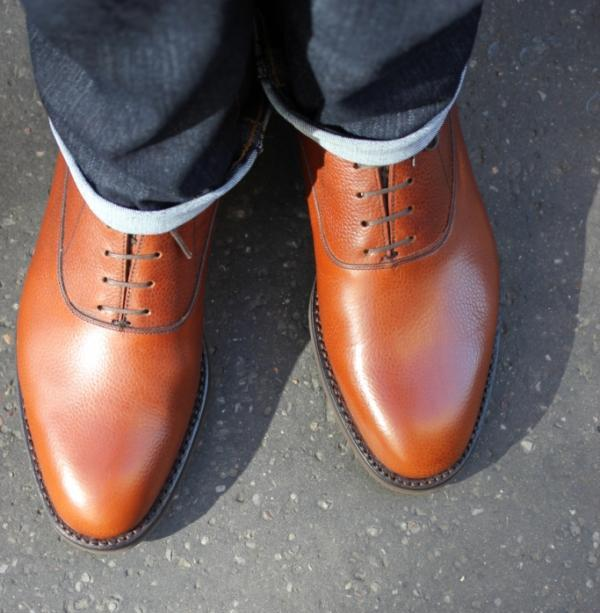 Stacy Adams Brown Bike Toe Lace Up Shoes - Dress Shoes | Men's