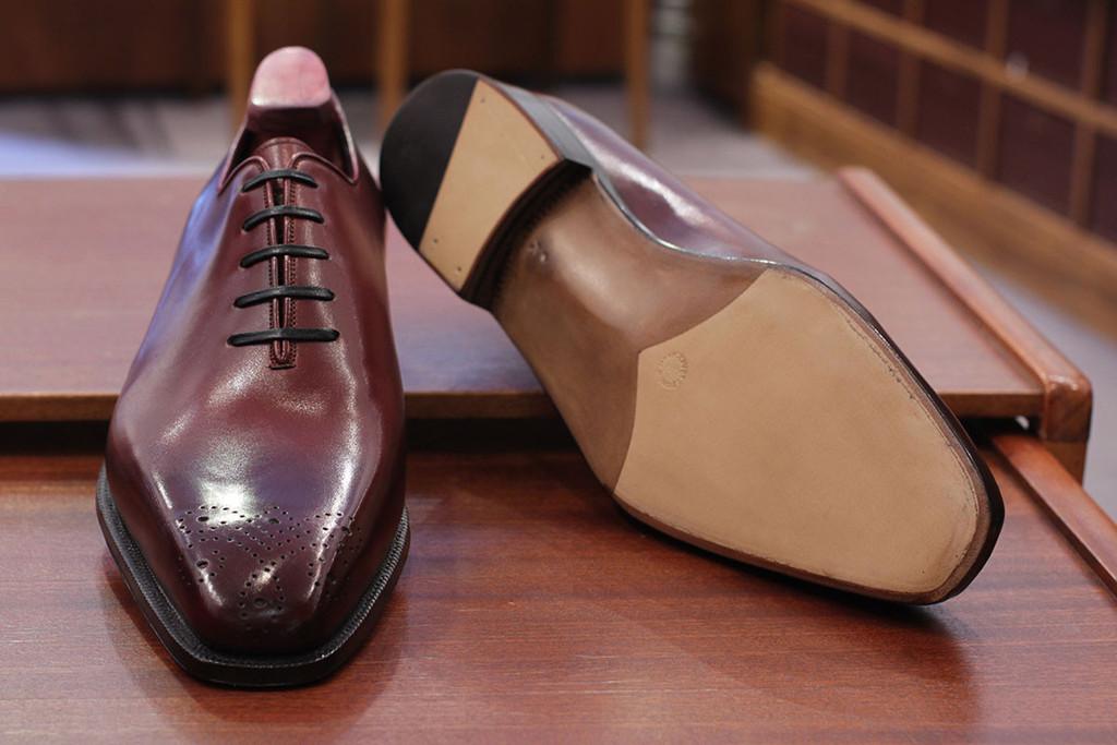 SKU#BFG1931 Mens Giorgio Venturi Dress Shoes in Shades of Black