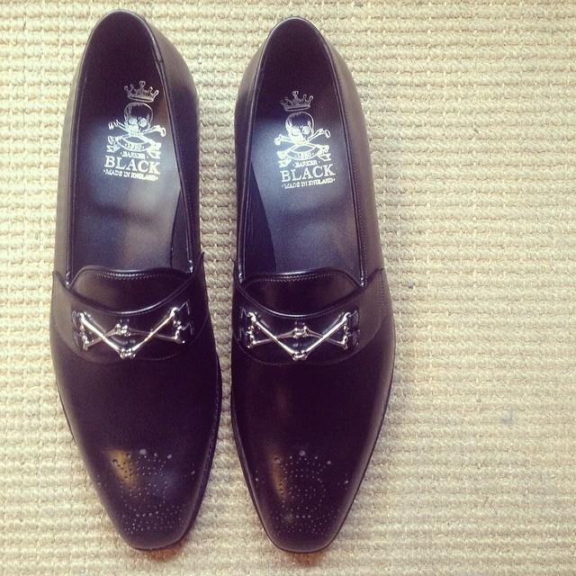 Barker Black Shoes 106