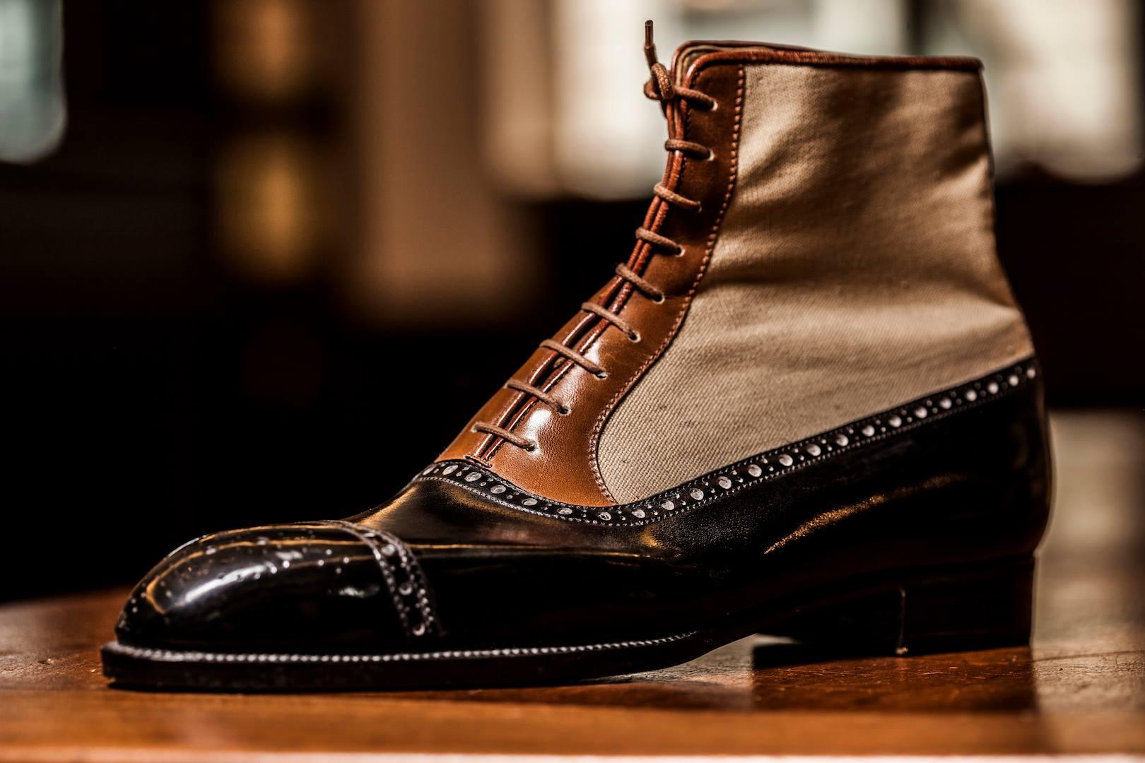 Dimitri Gomez Bespoke Balmoral Boot The Shoe Snob Blog
