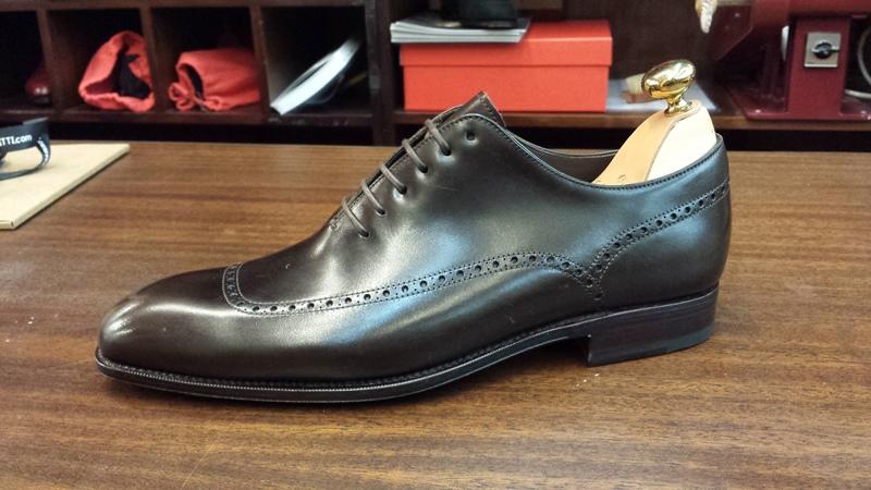 carmina shoes wholecut oxfords