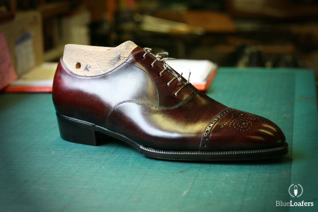 Foster & Son Bespoke oxford, courtesy of Blue Loafers