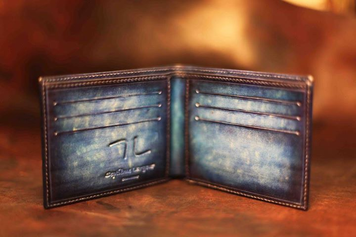 Septieme Largeur patina billfolds