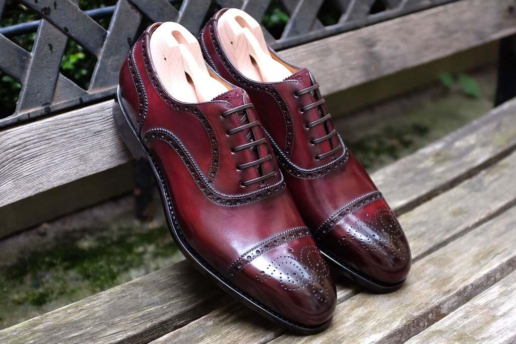 99b4727994 Burgundy Brogues by Paolo Scafora – The Shoe Snob Blog