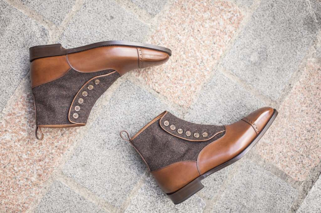 J.FitzPatrick Footwear - New Button Boots Now In Stock!
