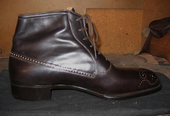 Gray Balmoral Boots?&..YES, PLEASE