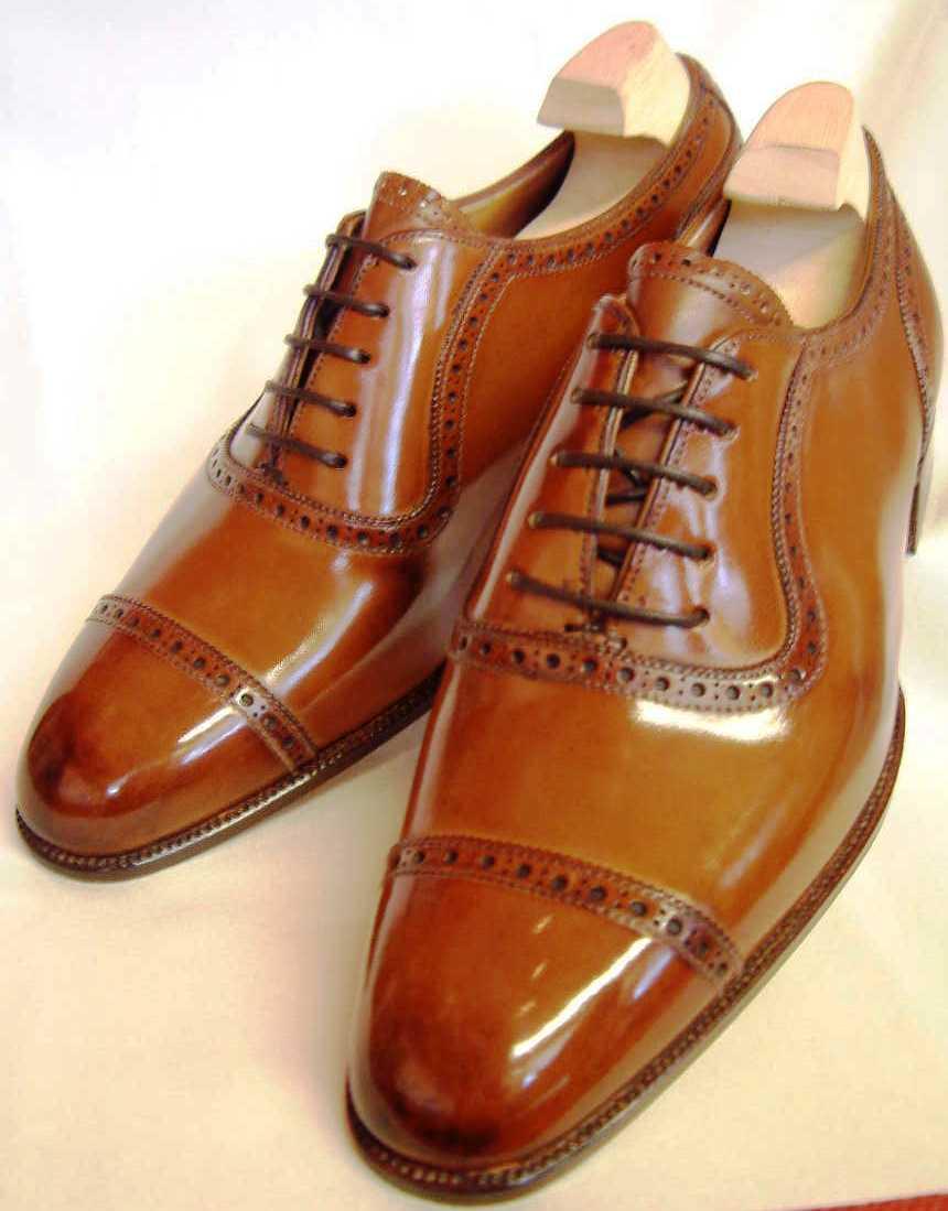 Jimmy Choo Mens Brown Shoes