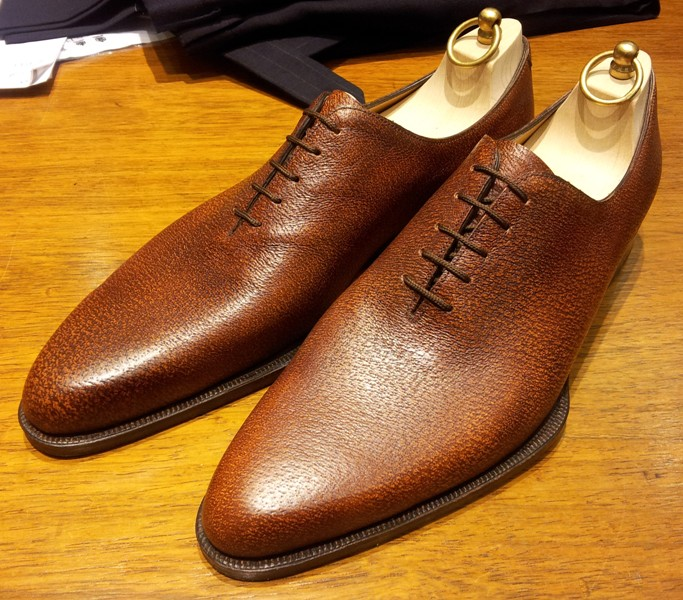 Pig Skin Leather Shoes