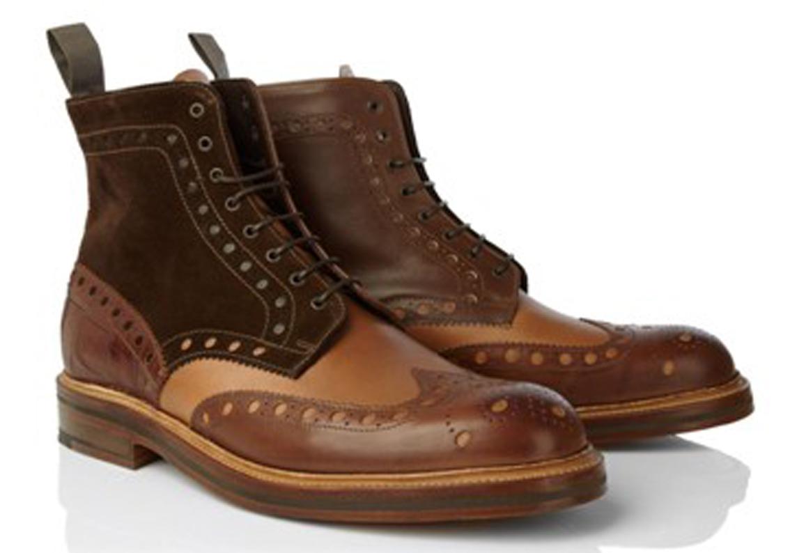 heavy brogue boots the shoe snob