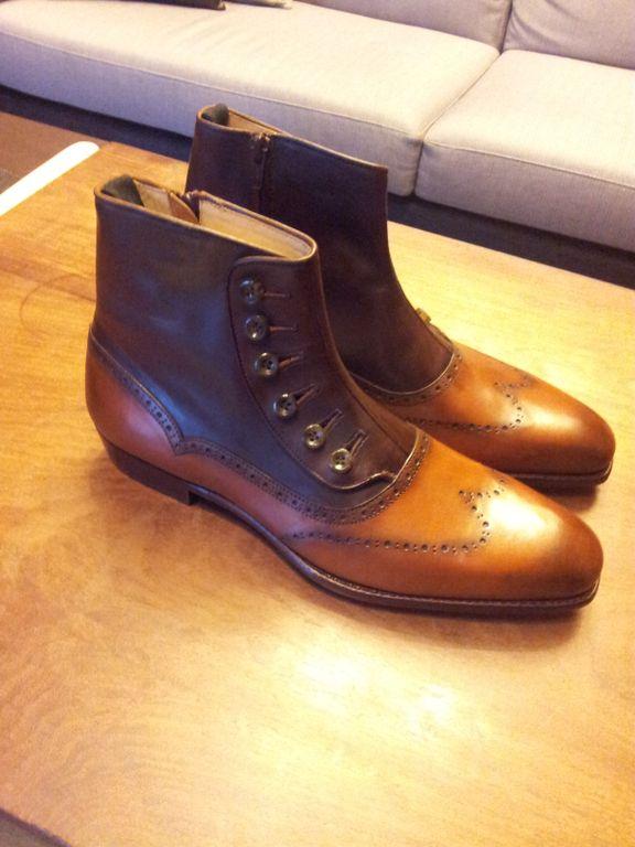Spat Boots by Ed Et Al - The Shoe Snob BlogThe Shoe Snob Blog